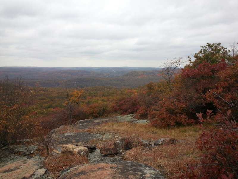 View on 7 Hills trail.