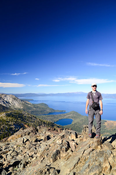 Summit of Mt. Tallac.
