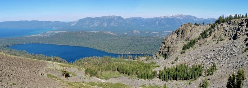 View from Mt Tallac Trail.