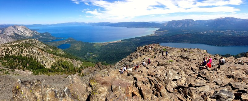 Lake Tahoe from Mt. Tallac