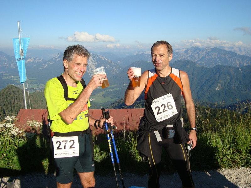 Hochfelln summit (90 miles)