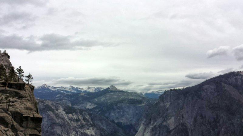 Gloomy days in Yosemite need love too.