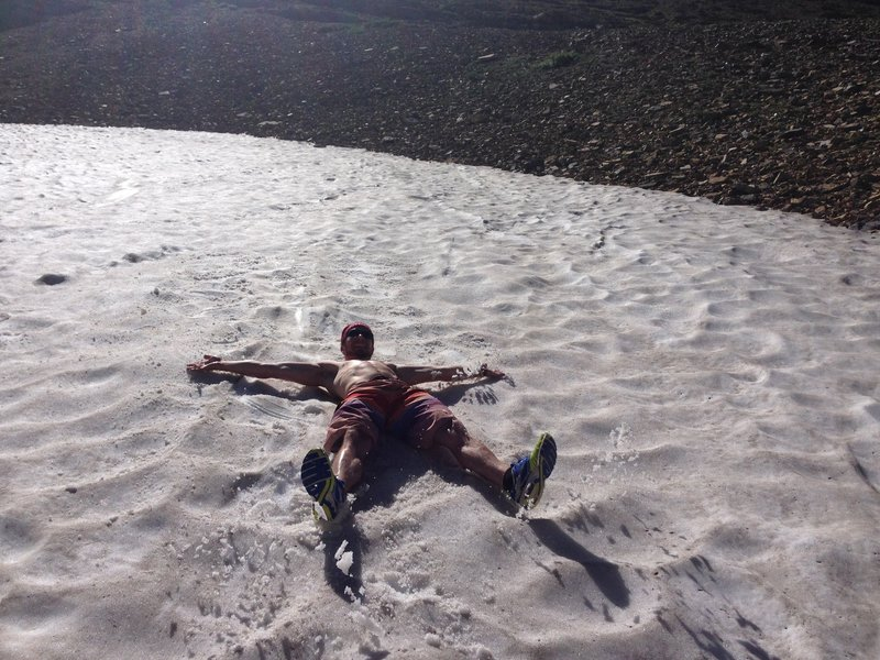 Snow angel in July? Dont mind if I do.