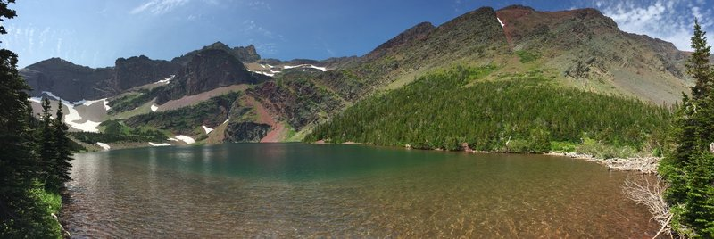 Otokomi Lake, Glacier National Park.