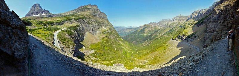 Logan Pass panorama.