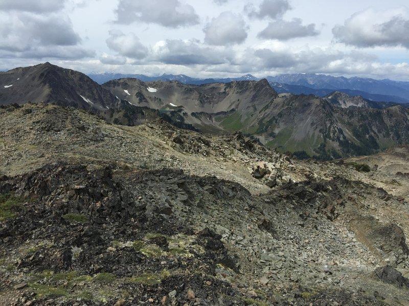 View from Grand Peak.