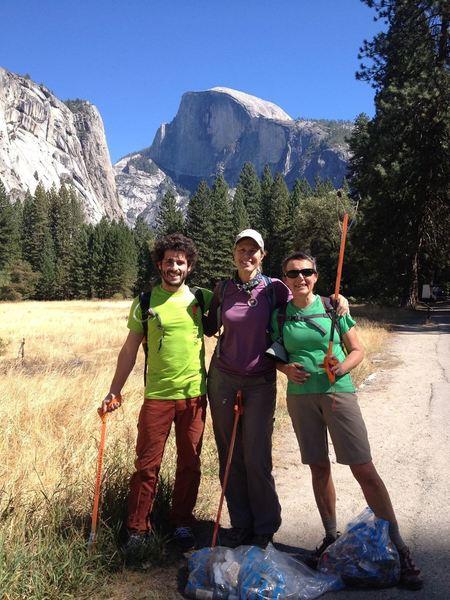 Berkeley REI Employees Volunteering in Yosemite.