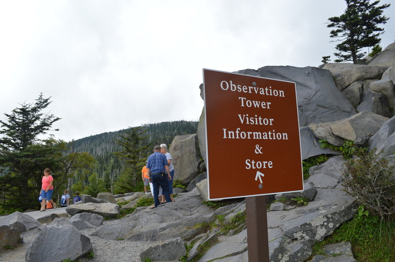 Even if you are unable to hike the trail, you'll enjoy the views at the base.