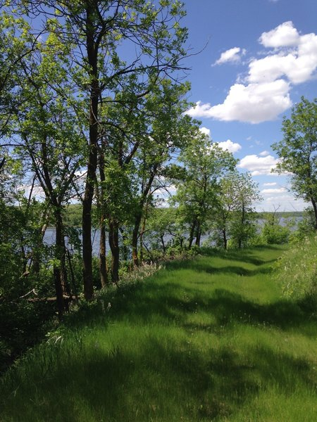 Scenery is abundant along the Canada Goose Nature Trail.