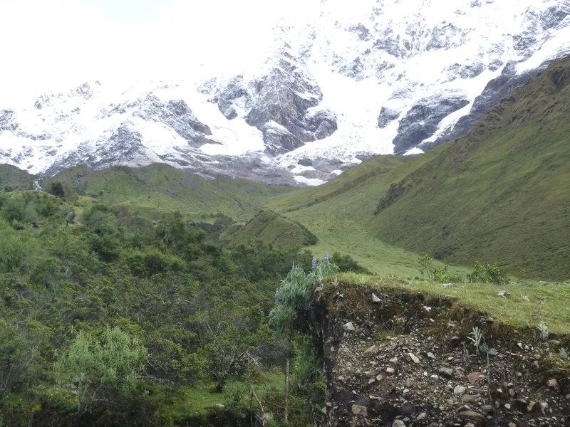 Spectacular views the whole way along the Salkantay Trek.