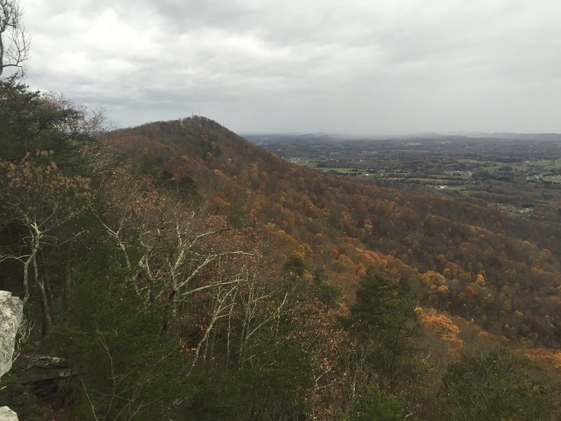 The scenery from the West Overlook.