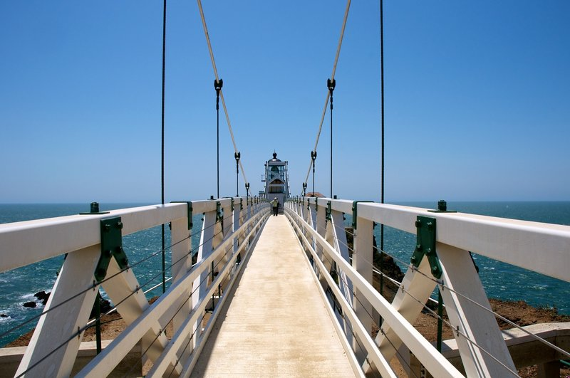 Another view of the lighthouse bridge