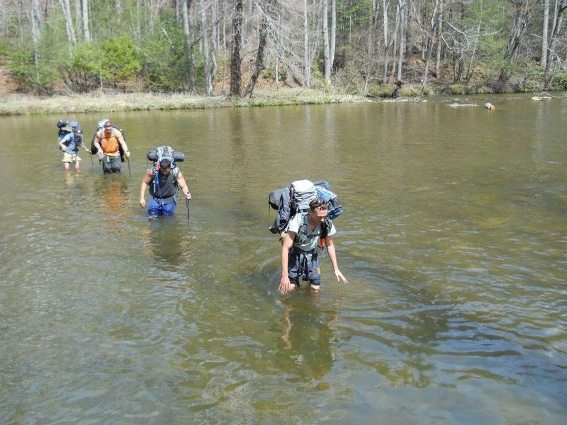 The occasional river crossing is necessary - be sure to bring trekking poles and a waterproof bag!