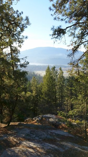 Pend Oreille River viewpoint