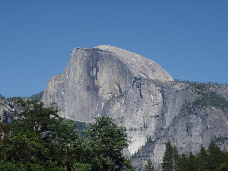 Half Dome. Yosemite National Park.