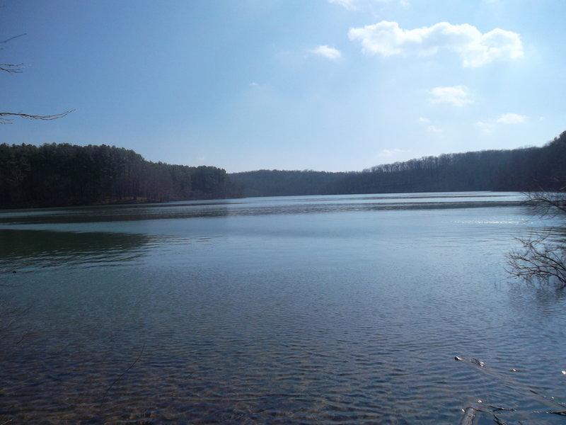 Liberty Reservoir from the Morgan Run Loop.