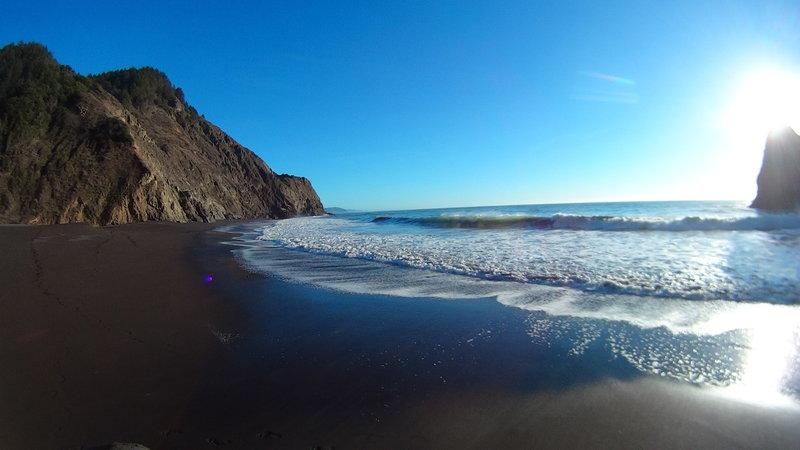 Little Jackass Creek Beach