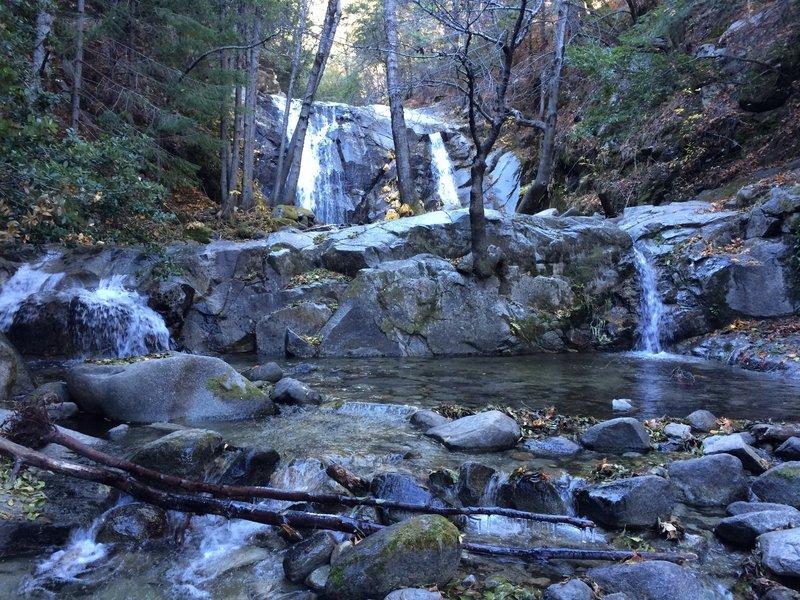 Upper Brandy Creek Falls in late November.