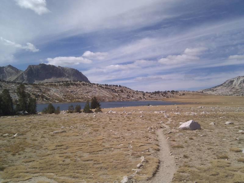 Evelyn Lake in Yosemite.