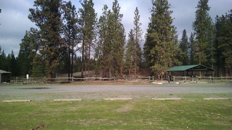 Riverside State Park Equestrian area