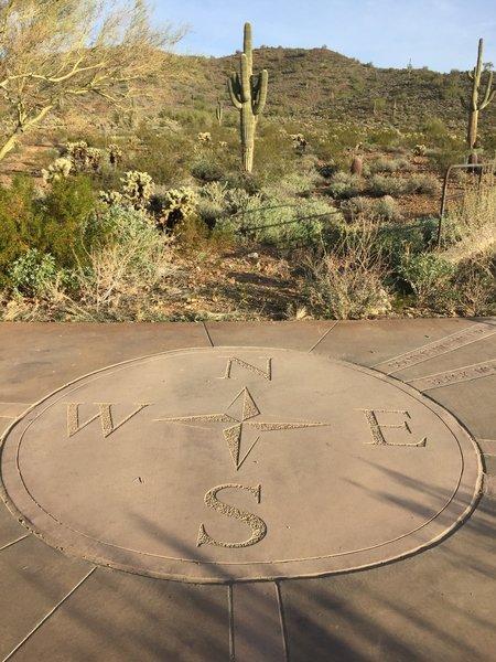 Concrete marker