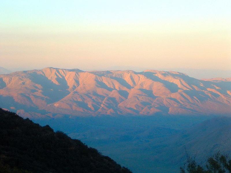 Whale Peak sunset.