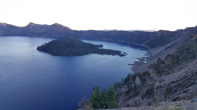East side of Crater Lake.
