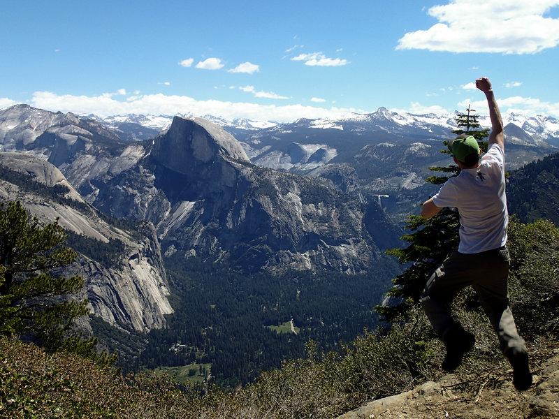 Half Dome from Eagle Peak, Yosemite