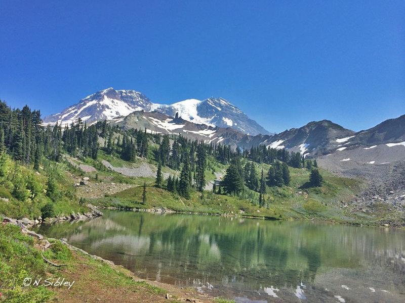 Beautiful views abound on the Wonderland Trail (2014).