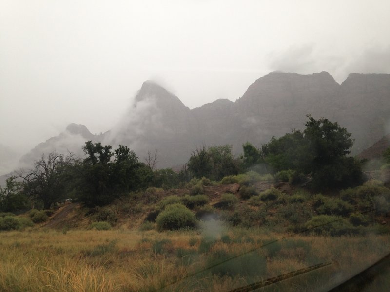 View from Watchmen Campground