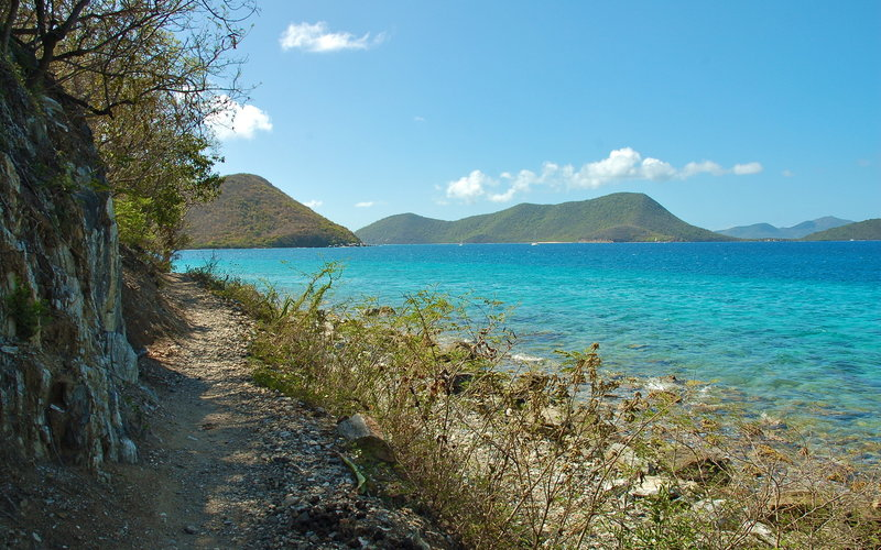 Leinster Bay Trail, Virgin Islands National Park.