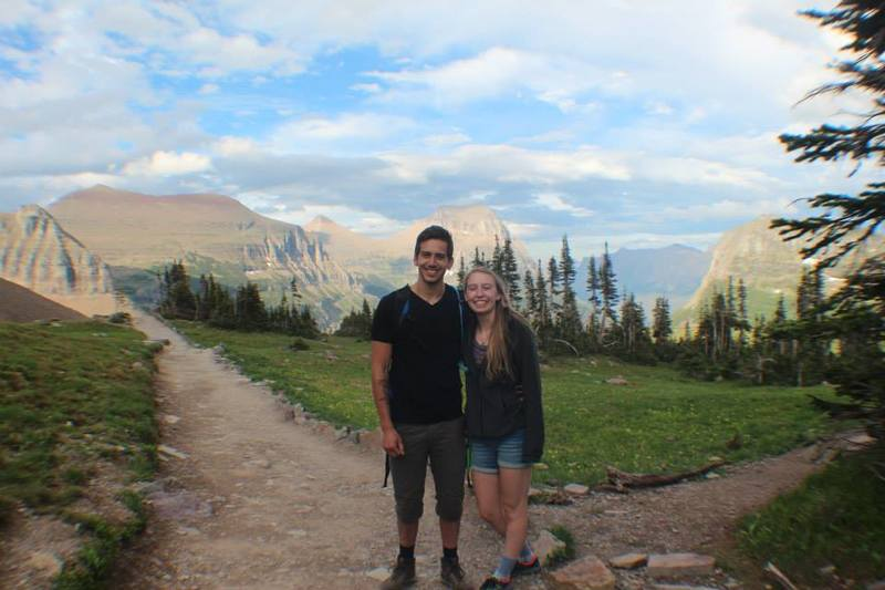 REI employee Katie and her boy enjoying Glacier National Park. They're pretty certain it's the prettiest place in the world.