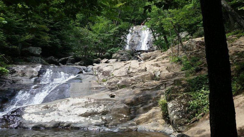 Whiteoak Canyon lower falls.