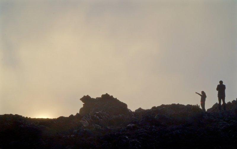 Kalahaku Overlook post-daybreak.