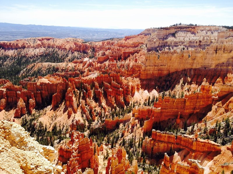 Inspiration Point view from the Navajo Trail.