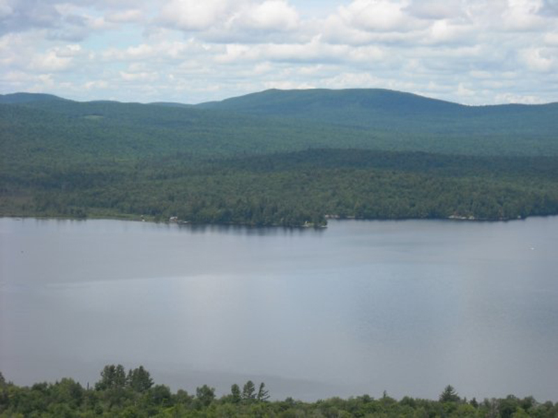 View of Chateaugay Lake from Lyon's Cub!