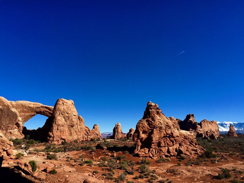 Windows Arches are on display from the Turret Arch Trail.