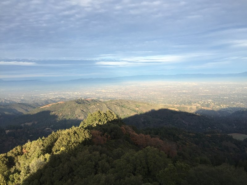 One of many views from the Castle Rock Loop.