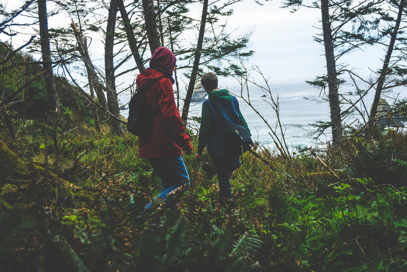 Hiking the OCT in Ecola State Park