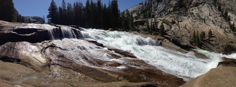 Waterwheel Falls Trail.
