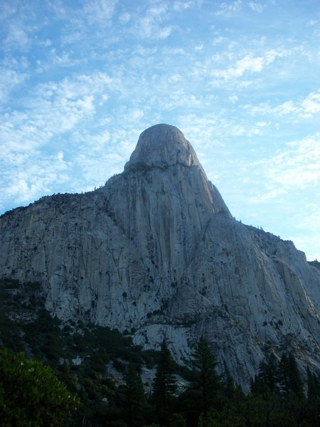 Tehipite Dome looms above the Middle Fork Trail.