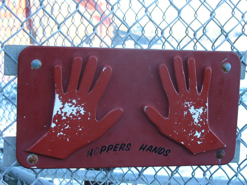 Hopper's Hands