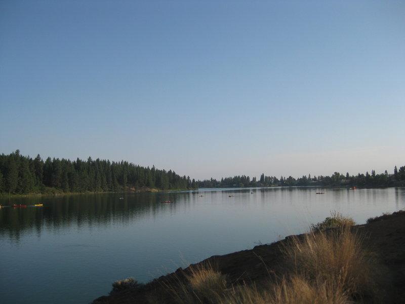 Vew of Medical Lake.