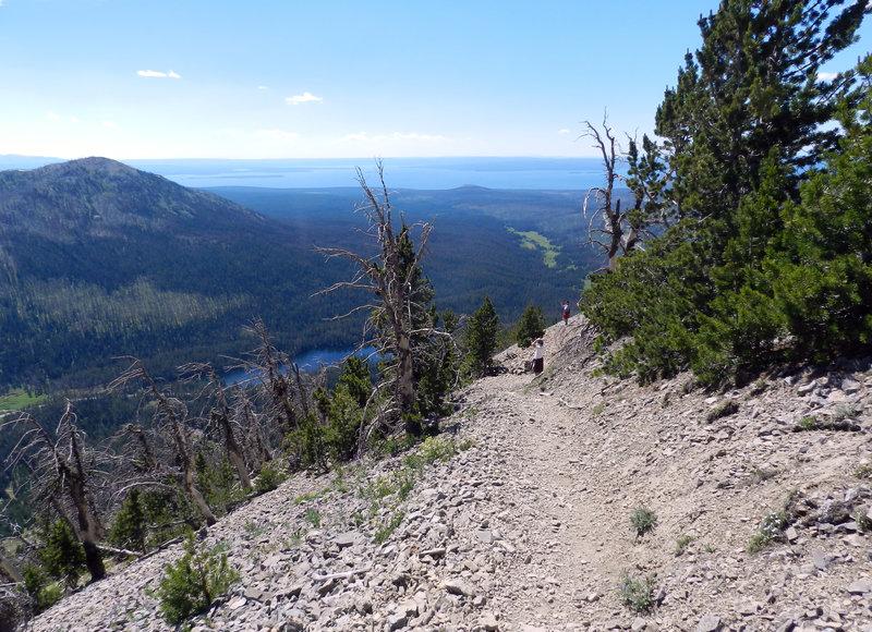 Avalanche Peak Trail.