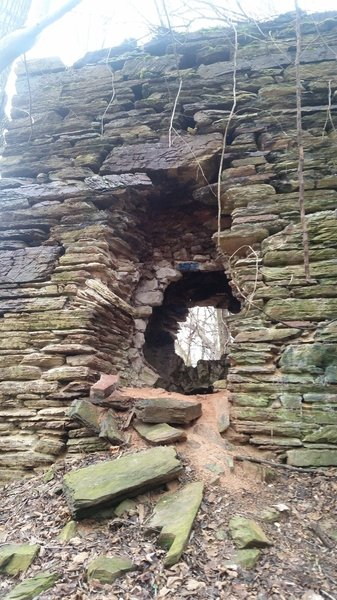 Abandoned forge in Valley Forge National Historical Park.