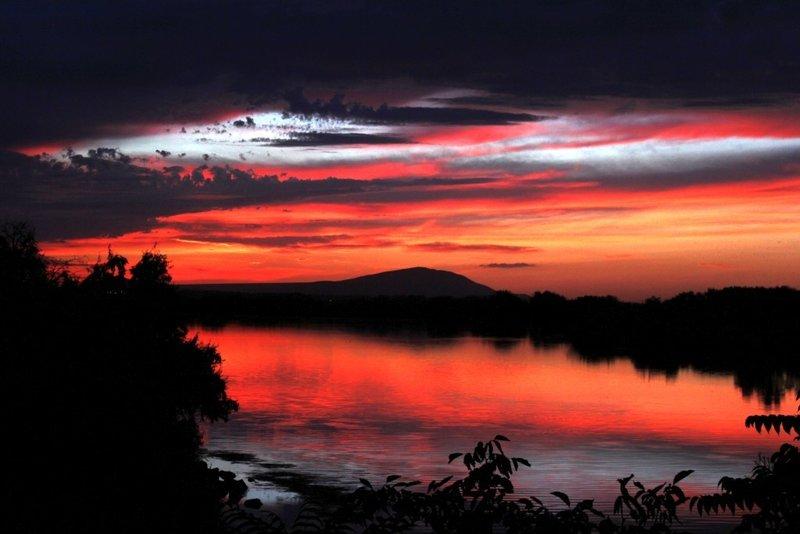 Bateman Island Sunset.