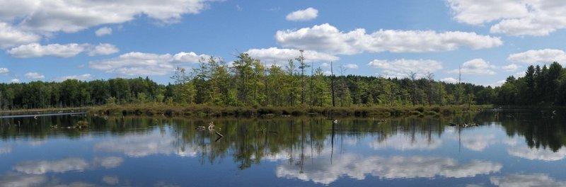Oakley Corners Lake, courtesy of CNY-Hiking.