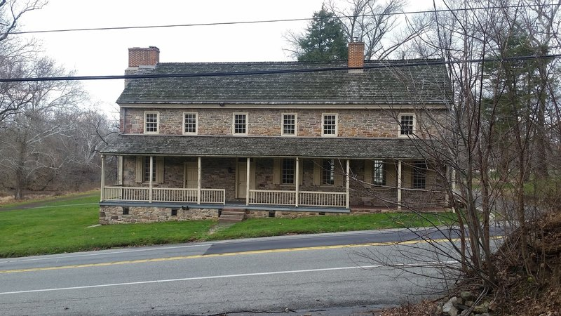 David Potts House sits across from the Gulph Road end of the trail