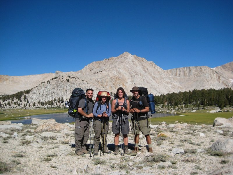 Last night of our Trans Sierra trek. Feeling great...looking forward to some pizza and beer!