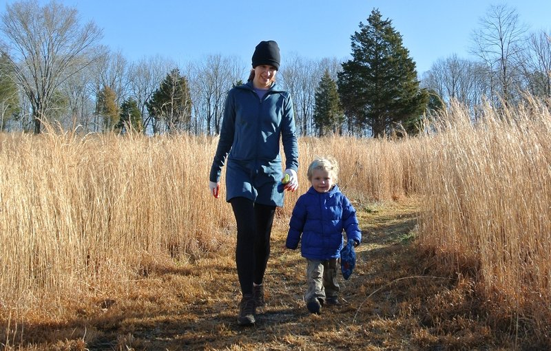 The Holman Loop is perfect for families with young children even in winter!